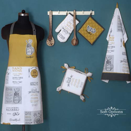 Kitchen linen from India